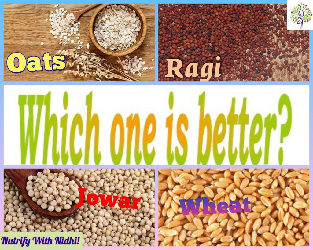 Read more about the article Oats, Ragi Or Jowar Atta: What's Better For Weightloss?