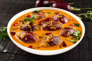 Read more about the article Brinjal Sabji